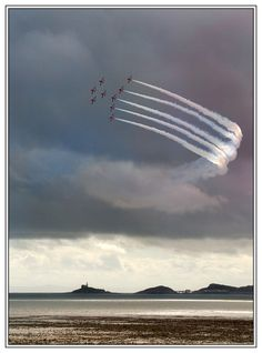 Planes Red Arrows