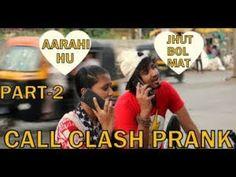 CALL CLASH PRANK ON GIRL PRANK IN INDIA BY VJ PAWAN SINGH Girl Pranks, Bollywood Updates, India, Baseball Cards, Music, Youtube, Musica, Goa India, Musik