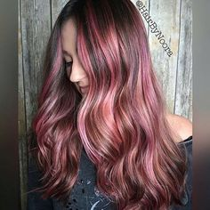 Raspberry Frost @hairbynoora used #KenraColorCreative White, Pink, and olaplex #2 to create this look! #KenraColor #PinkHair
