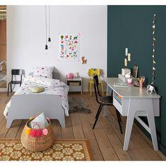 Bed met retro vintage stijl, 1 persoon, adil La Redoute Interieurs   La Redoute