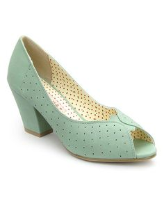 Another great find on #zulily! Mint Halina Pump by B.A.I.T. #zulilyfinds