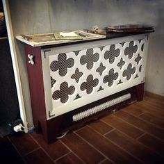 Custom Reclaimed Radiator Covers by reclaimedhome on Etsy