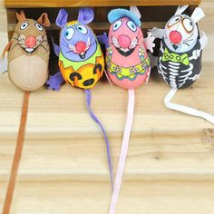 Fatcat Canvas Mouse Toy w/ Catmint