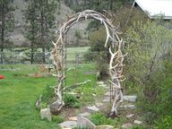 My Archway at my wedding =)