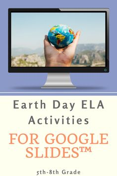 This resource comes with a variety of activities to celebrate not only Earth Day, but anytime of the year! There are writing and reading comprehension activities as well as hands-on and reflective activities! Use this resource to expose your students to the importance of environmental conservation! #elaresoures #digitalresources #distancelearning #digitallearning Reading Comprehension Activities, Writing Activities, Classroom Activities, Teaching Resources, Middle School Activities, Earth Day Activities, Earth Day History, National Geographic Kids, Free Lesson Plans