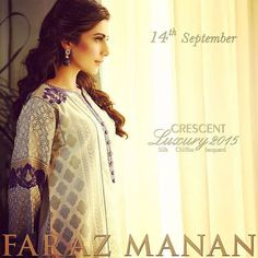 Faraz Manan Luxury Eid Lawn Collection 2015 for Girls  http://clothingpk.blogspot.com/2015/09/faraz-manan-luxury-eid-lawn-collection-2015.html
