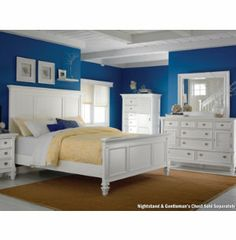 Breeze White 3Pc Queen Bedroom | Master Bedroom | Bedrooms | Art Van Furniture - Michigan's Furniture Leader