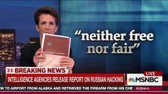 Rachel Maddow points out that because Americans can read the declassified version of the intelligence report on Russia, we can see that Donald Trump is lying about what the report says about the effect on the election and the hacking of Republican...