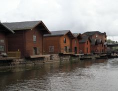 Porvoo by the river