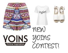 """""""JOIN MY FIRST CONTEST (link in d.)"""" by maidaa12 ❤ liked on Polyvore featuring contest, yoins and yoinscollection"""