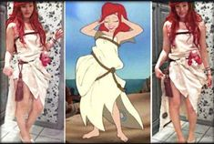 Red Head Halloween Costumes, Couple Halloween Costumes For Adults, Scary Costumes, Halloween Cosplay, Halloween Fun, Cosplay Costumes, Teen Costumes, Woman Costumes, Pirate Costumes