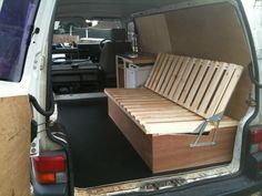Camping Bed - Self made wooden seat beds. Pics please - Page 2 - VW T4 Forum - VW T5 Forum
