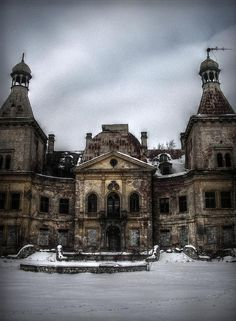 "victorian-jam: "" Abandoned palace in Manczyce, Poland www.flickr.com/photos/elawdowiarska/4946858862/in/photostream/ """