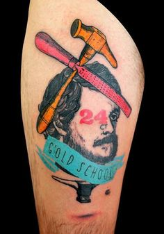 Lorenzo Loreprod Anzini - Gold School Tattoo