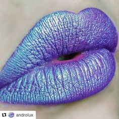 Loving @androlux 's unicorn inspired lip using our Madly Matte Lip Gloss in Wisteria Wink (1638). ;)  #repost #kleancolor #madlymatte #madlymattelipgloss #lip #lippie #lipcolor #wisteriawink #lipswatch #magical #playwithmakeup #iridescence #makeup #cosmetics #beauty