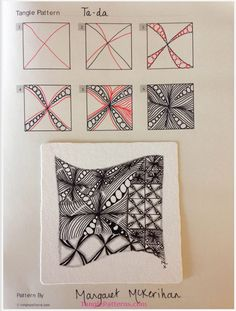 How to draw TA-DA « TanglePatterns.com