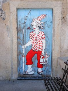Hopnn - Italian Street Artist - Lipari - 2014 #hopnn #streetart