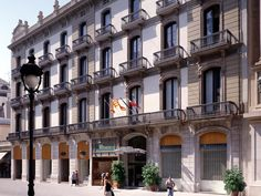 Barcelona Catalonia Portal De L'Angel Hotel Spain, Europe Catalonia Portal De L'Angel Hotel is conveniently located in the popular La Rambla area. The hotel offers guests a range of services and amenities designed to provide comfort and convenience. Free Wi-Fi in all rooms, 24-hour front desk, facilities for disabled guests, Wi-Fi in public areas, room service are just some of the facilities on offer. Each guestroom is elegantly furnished and equipped with handy amenities. Tak...