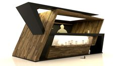 coffee kiosk on Behance