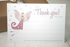 Matching thank you notes too!