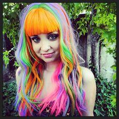 Rainbow Hair | rainbow hair - Hairstyles and Beauty Tips