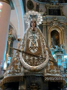 Nuestra Señora de la Piedad. Patrona de Quintanar de la orden.