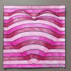 Image gallery – Page 75646468726396996 – Artofit Illusion Kunst, Illusion Art, Doodle Drawings, Doodle Art, Arte Elemental, 3rd Grade Art, Valentines Art, Middle School Art, Elements Of Art