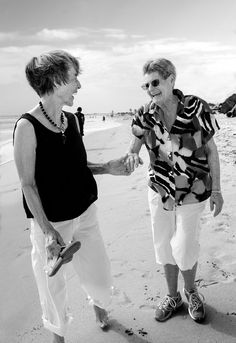 Beautiful Lesbian Couples Who've Been Together More Than a Decade  ❤️ Edrie and Jan 55 years