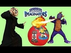 Skylanders Imaginators Giant Toys Surprise Egg PS4 Gameplay Character Cr...