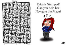 Puzzled Erica, by Nathan Benner. Doodles, Family Guy, Fictional Characters, Art, Art Background, Kunst, Performing Arts, Fantasy Characters, Donut Tower