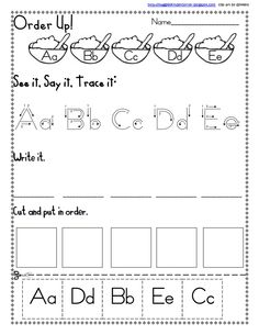 Letter Sequence a to e.pdf