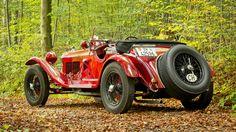 Alfa Romeo 6C 1750 Supercharged Gran Sport Spider by Carrozzeria Zagato 1931