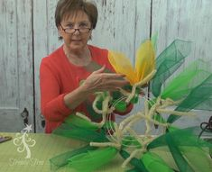 New Sunflower wreath tutorial