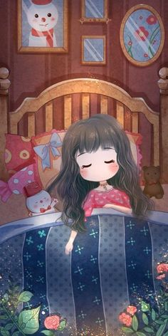 Kawaii Wallpaper, Wallpaper Iphone Cute, Disney Wallpaper, Cartoon Wallpaper, Cute Wallpapers, Cute Love Cartoons, Cute Cartoon, Girl Cartoon, Cartoon Art