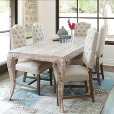 "Aria 72"" Dining Table 
