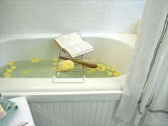 Update a Bathtub Surround Using Beadboard   Bathroom Ideas & Designs   HGTV