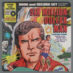 The Six Million Dollar Man (book and record set)