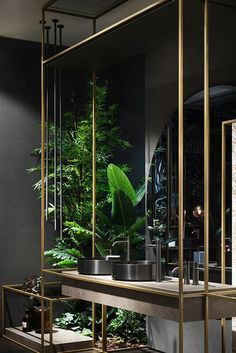 Gessi is the design manufacturer of luxury bath and kitchen faucets, showers system and electronically operated taps. Home Interior Design, Showroom Design, Restroom Design, Bathroom Interior, Luxury Bathroom, Powder Room Design, Bathroom Interior Design, Washroom Design, Toilet Design