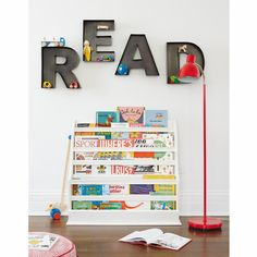 Kids Wall Decor: Metal Hanging Wall Letters in Wall Letters | The Land of Nod