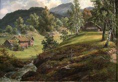 Johan Christian Dahl -  Fra Lysekloster, 1841.