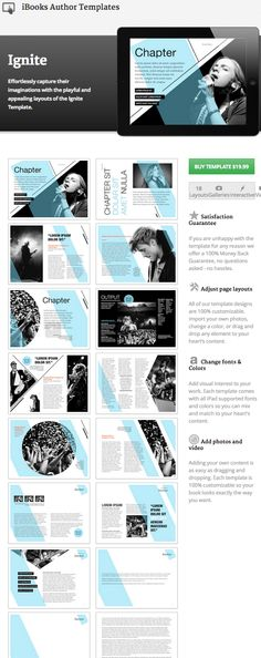 59 Best iBooks Author Templates images Author, My books, Writers