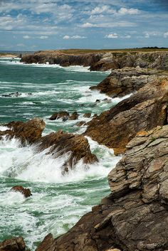 Traveling on a budget? Check us out! Connect with us on Facebook! https://www.facebook.com/gainesfambiz Quiberon - Côte sauvage 6 | Flickr - Photo Sharing!