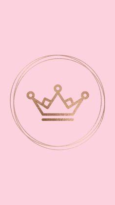 Emoji Wallpaper, Cute Wallpaper Backgrounds, Pretty Wallpapers, Wallpaper Iphone Cute, Pink Wallpaper, Pink Instagram, Instagram Logo, Hight Light, Pink Crown