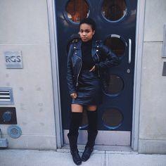 Leather. Via Faintly Masculine