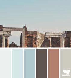 pompeii palette