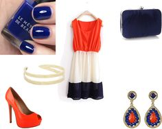 """Dressy :)"" by dadejone ❤ liked on Polyvore"