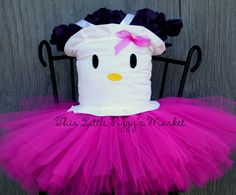 Girls HELLO KITTY 2 pc. Tutu and Corset Top Costume