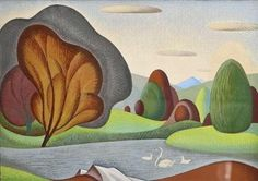 View Swans & Cygnets By John Luke; Access more artwork lots and estimated & realized auction prices on MutualArt. John Luke, Irish Art, Antique Paint, Surrealism, Modern Art, Sculptures, Watercolor, Abstract, Antiques