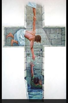 My help comes from My Lord - what a beautiful powerful picture...