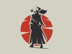 Samurai illustration icon gamers vector branding t-shirt art mark identity design logo Source by dre T-shirt Kunst, Ronin Samurai, Inspiration Logo Design, Samurai Artwork, Japan Logo, Samurai Tattoo, Japan Art, Japan Japan, Cool Logo